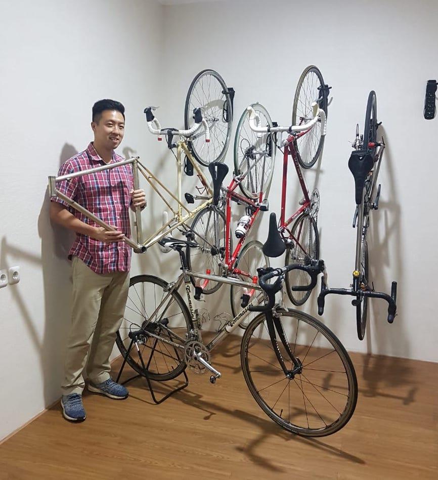 Nurani Saya Menyatu Dengan Sepeda Besi Mainsepeda Com