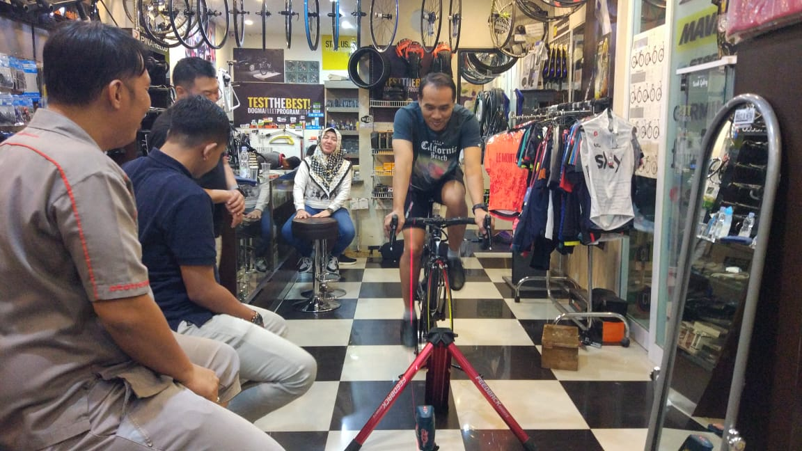 Toko Sepeda Rusdy Galeri, buat Cyclist Sulawesi