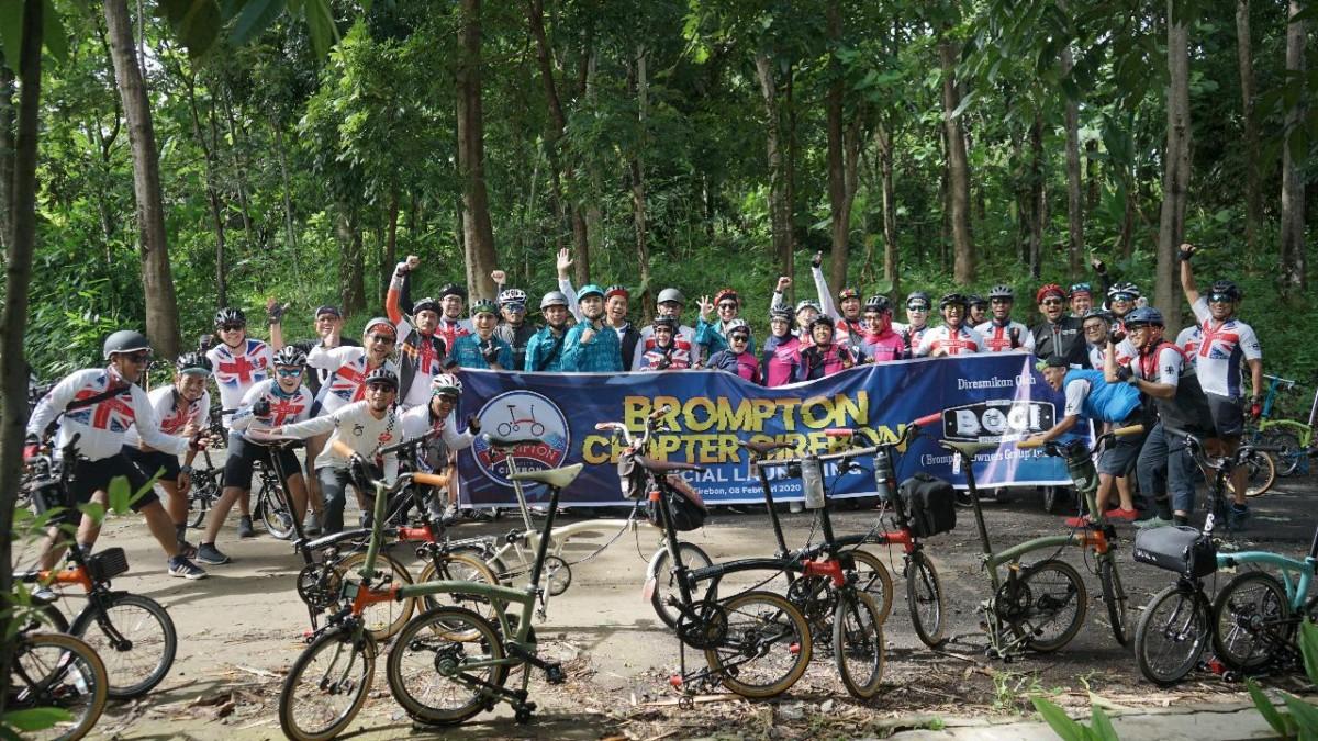 September Ngumpul Februari Resmi Terbentuk Brompton Chapter Cirebon Mainsepeda Com